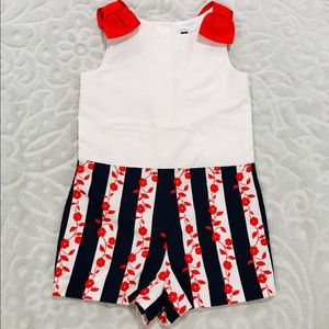 Adorable Janie and Jack Romper- size 5